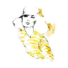 Картина (репродукция, постер): In yellow - Миртл Куиламо