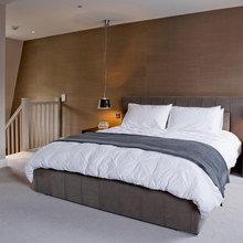 Фотография: Спальня в стиле Лофт, Современный, Дом, Дома и квартиры – фото на InMyRoom.ru