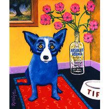 Картина (репродукция, постер): Absolut - Джорж Родриге
