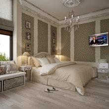 Фотография: Спальня в стиле Кантри, Классический, Дом, Дома и квартиры, Прованс, Проект недели – фото на InMyRoom.ru
