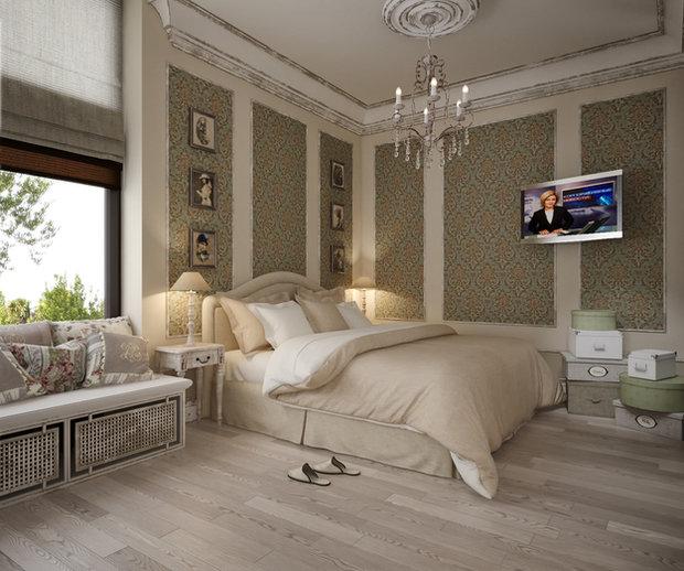 Фотография: Спальня в стиле Прованс и Кантри, Классический, Дом, Дома и квартиры, Прованс, Проект недели – фото на InMyRoom.ru