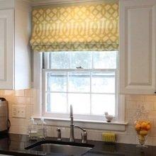 Фотография: Кухня и столовая в стиле Кантри, Декор интерьера, Текстиль, Окна – фото на InMyRoom.ru