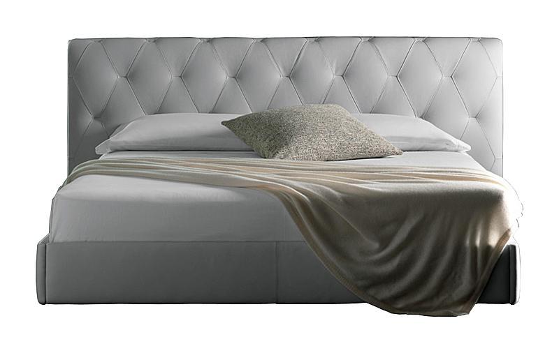 Кровать Bluemoon 180х200 см белая кожа класса премиум