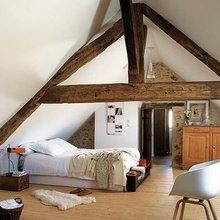 Фотография: Спальня в стиле Кантри, Современный, Чердак, Мансарда – фото на InMyRoom.ru