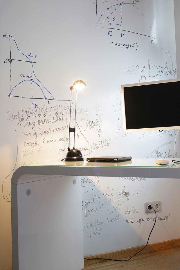 Фотография: Кабинет в стиле Современный, Эклектика, Квартира, Проект недели – фото на InMyRoom.ru