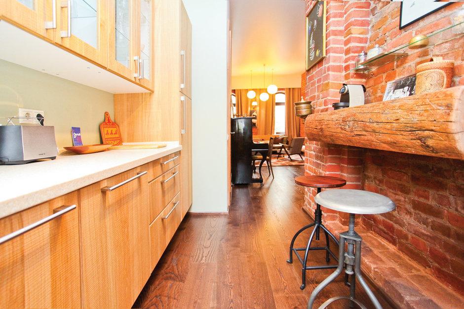 Фотография: Кухня и столовая в стиле Лофт, Декор интерьера, Дом, Дома и квартиры, Стена – фото на InMyRoom.ru