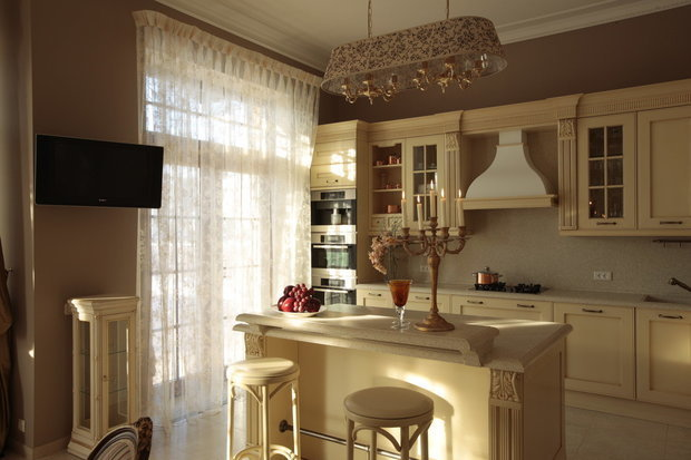 Фотография: Кухня и столовая в стиле Классический, Советы – фото на INMYROOM