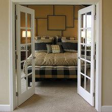 Фотография: Спальня в стиле Современный, Декор интерьера, Малогабаритная квартира, Советы – фото на InMyRoom.ru