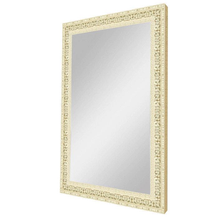 """Зеркало в изысканной раме """"Слоновая кость"""""""