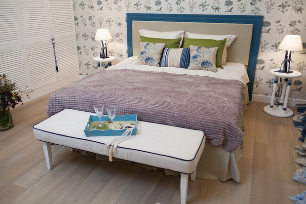 Фотография: Спальня в стиле Прованс и Кантри, Интерьер комнат – фото на InMyRoom.ru