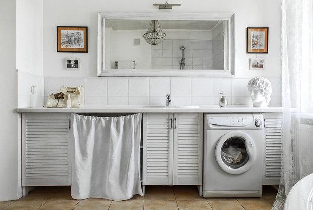 Фотография: Ванная в стиле Эклектика, как сэкономить, электрика в квартире, экономия, #каксэкономить – фото на INMYROOM