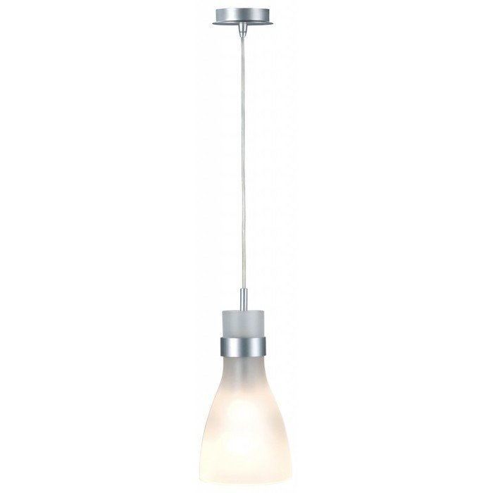 Светильник подвесной SLV Biba серебристый / стекло матовое
