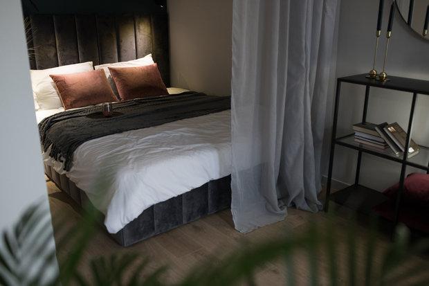 Фотография: Спальня в стиле Современный, Квартира, Студия, Проект недели, Санкт-Петербург, 1 комната, до 40 метров, Нина Иваненко – фото на INMYROOM