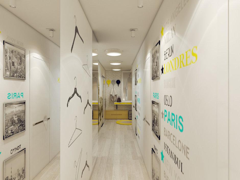 Фотография: Прихожая в стиле Скандинавский, Современный, Квартира, Дома и квартиры, IKEA, Проект недели – фото на InMyRoom.ru