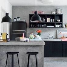 Фотография: Кухня и столовая в стиле Лофт, Декор интерьера, Аксессуары, Декор, Белый, Черный, Желтый, Серый, Бирюзовый – фото на InMyRoom.ru