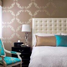 Фотография: Спальня в стиле Классический, Современный, Эклектика, Интерьер комнат – фото на InMyRoom.ru