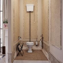 Фотография: Ванная в стиле Кантри, Классический, Дом, Дома и квартиры, Прованс, Проект недели – фото на InMyRoom.ru
