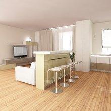 """Фото из портфолио кухня-студио """"весеннее настроение"""" – фотографии дизайна интерьеров на InMyRoom.ru"""