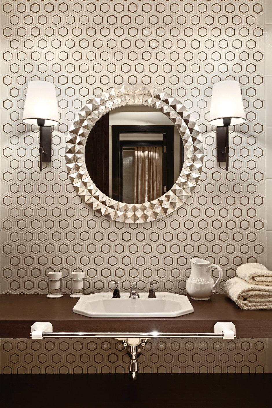 Фотография: Ванная в стиле Эклектика, Дом, Дома и квартиры – фото на InMyRoom.ru