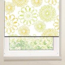 Рулонные шторы на кухню: Ажурные одуванчики