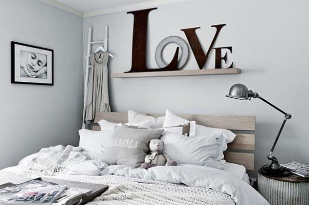 Фотография: Спальня в стиле Скандинавский, Декор интерьера, Дом, Декор дома – фото на InMyRoom.ru