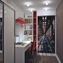 Фото из портфолио Квартира в Москве. 30 жилых метров – фотографии дизайна интерьеров на INMYROOM