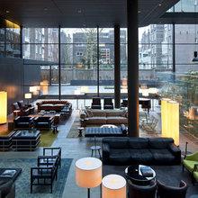 Фотография:  в стиле Современный, Квартира, Дома и квартиры, Международная Школа Дизайна – фото на InMyRoom.ru