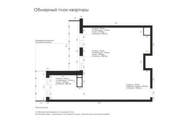 Фотография: Планировки в стиле , Современный, Квартира, Проект недели, Химки, Монолитный дом, 3 комнаты, 60-90 метров, Анна Русскина – фото на INMYROOM