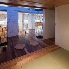 Фотография: Прихожая в стиле Минимализм, Дом, Дома и квартиры, Япония – фото на InMyRoom.ru