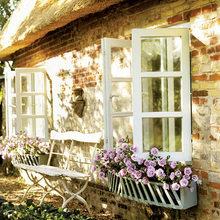 Фотография: Терраса в стиле Кантри, Дом, Дома и квартиры – фото на InMyRoom.ru