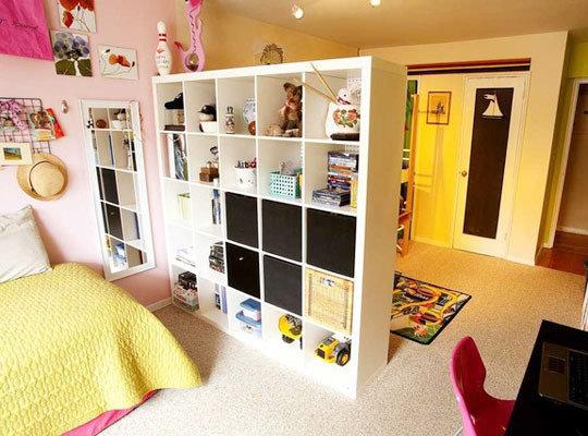 Фотография: Детская в стиле Современный, Декор интерьера, Декор дома, Ширма, Перегородки – фото на InMyRoom.ru
