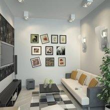 Фото из портфолио ЧЕРНО-БЕЛЫЙ HI-TECH, ЖК САДОВЫЙ – фотографии дизайна интерьеров на InMyRoom.ru