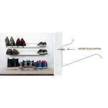 Полка для обуви J-me shoe rack 120 см белая
