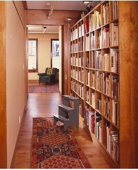 Фотография:  в стиле Прованс и Кантри, Хранение, Стиль жизни, Советы, Библиотека – фото на InMyRoom.ru
