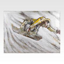 Инсталляция Snowboarder