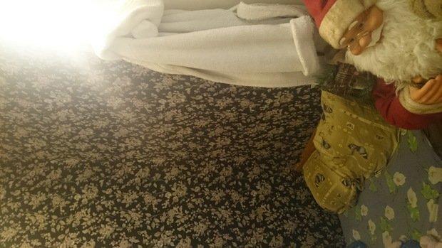 спальня в нише..текстиль