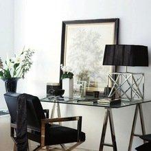 Фотография: Мебель и свет в стиле Современный, Кабинет, Скандинавский, Интерьер комнат – фото на InMyRoom.ru