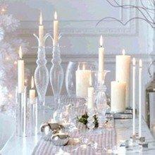 Фотография: Аксессуары в стиле Кантри, Декор интерьера, Праздник, Новый Год, Стол, Сервировка стола – фото на InMyRoom.ru