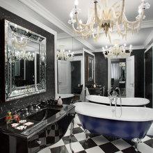 Фотография: Ванная в стиле Современный, Эклектика, Декор интерьера, Квартира, Christopher Guy, Flos, Дома и квартиры, B&B Italia – фото на InMyRoom.ru