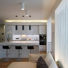 Фотография: Кухня и столовая в стиле Минимализм, Квартира, Дома и квартиры, Москва – фото на InMyRoom.ru