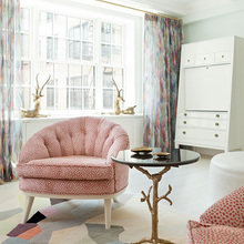 Фотография: Гостиная в стиле Кантри, Классический, Квартира, Дома и квартиры, Ар-деко – фото на InMyRoom.ru