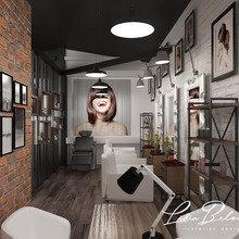 Фото из портфолио Барбершоп г. Москва – фотографии дизайна интерьеров на INMYROOM