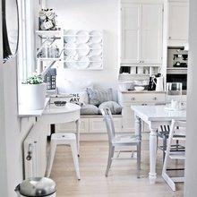 Фото из портфолио Дизайн маленькой кухни – фотографии дизайна интерьеров на InMyRoom.ru