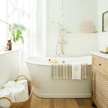Фотография: Ванная в стиле Скандинавский, Интерьер комнат, Ванна – фото на InMyRoom.ru
