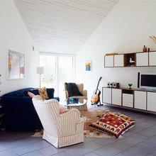 Фотография: Гостиная в стиле Кантри, Декор интерьера, Декор дома, Плитка – фото на InMyRoom.ru