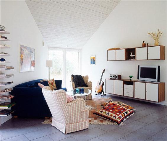 Фотография: Гостиная в стиле Прованс и Кантри, Декор интерьера, Декор дома, Плитка – фото на InMyRoom.ru
