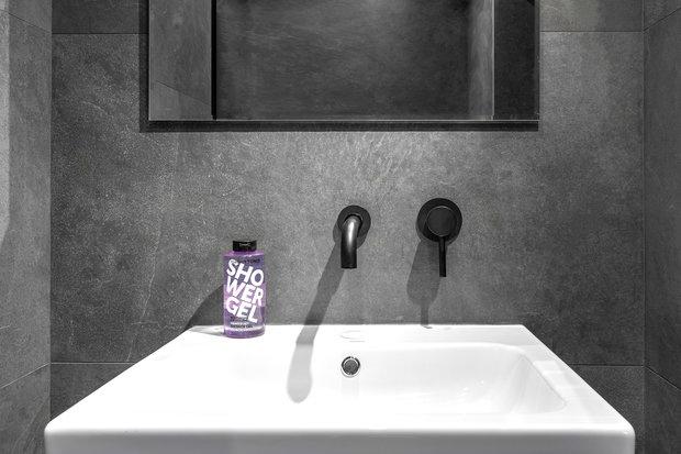 Фотография: Ванная в стиле Лофт, Современный, Квартира, Проект недели, Санкт-Петербург, Кирпичный дом, 2 комнаты, 40-60 метров, Bobo.space – фото на INMYROOM
