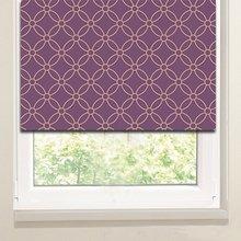 Рулонные шторы в гостиную: Геометрическое кружево