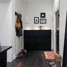 Фотография: Прихожая в стиле Скандинавский, Квартира, Швеция, Мебель и свет, Дома и квартиры, Гетеборг – фото на InMyRoom.ru