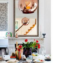 Фотография: Кухня и столовая в стиле Кантри, Декор интерьера, Дом, Цвет в интерьере, Дома и квартиры, Стены – фото на InMyRoom.ru